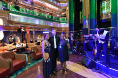 Dustin Gabriel cruise director Carnival Glory